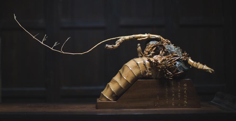 木雕国外动物精品
